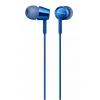 Наушники Sony MDR-EX155, синие, купить за 1000руб.