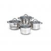 Кастрюля набор Kelli KL-4266, 8 предметов (нержавеющая сталь), купить за 1 995руб.