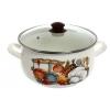 Кастрюля Interos 15156 Кухня (5,7 л, эмаль), купить за 1 065руб.