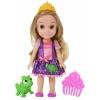товар для детей Кукла Принцессы Disney Малышка с питомцем 15 см, Рапунцель