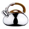 Чайник для плиты Wellberg 5859 WB 3.0л, со свистком (нержавеющая сталь), купить за 2 295руб.