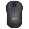 Мышь Logitech M220 Silent, темно-серая, купить за 1395руб.