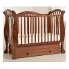 Детская кроватка Гандылян Габриэлла Люкс (универсальный маятник), орех, купить за 22 575руб.