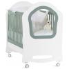Детская кроватка Feretti Voila Princier, белая с зеленым, купить за 31 240руб.