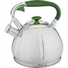 Чайник для плиты Kelli KL-4317, 3,0л со свистком (нержавеющая сталь), купить за 1 140руб.
