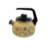 Чайник для плиты Стальэмаль 2,0л со свистком, луговые цветы  (4с210я), купить за 1 275руб.