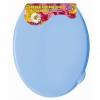 Сидение для туалета Violet 1110/3, голубое, купить за 660руб.