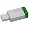 Usb-флешку Kingston DataTraveler 50 16Gb, зеленая, купить за 580руб.