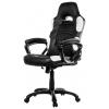 Игровое компьютерное кресло Arozzi Enzo, черно-белое, купить за 15 000руб.