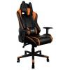 Игровое компьютерное кресло Aerocool AC220 AIR-BO с перфорацией, черно-оранжевое, купить за 12 690руб.
