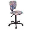 Компьютерное кресло Бюрократ CH-204NX/MARK-LB голубой-марки, купить за 2 630руб.