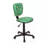 Компьютерное кресло Бюрократ CH-204NX/PENCIL-GN зеленый карандаши, купить за 2 630руб.