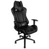 Игровое компьютерное кресло Aerocool AC120 AIR-B, черное, купить за 12 320руб.