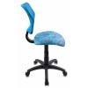 Компьютерное кресло Бюрократ CH-295/LB, детское (цвет aqua), купить за 2 490руб.