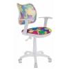 Компьютерное кресло Бюрократ CH-W797-ABSTRACT (детское), купить за 4 490руб.