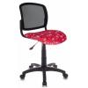 Компьютерное кресло Бюрократ CH-296/Anchor-RD (красное с рисунком), купить за 2 490руб.