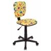 Компьютерное кресло Бюрократ CH-204NX/DINO-Y, желтое, купить за 2 590руб.