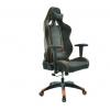 Игровое компьютерное кресло Бюрократ CH-776/BL+OR, черно-оранжевое, купить за 14 886руб.