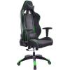Игровое компьютерное кресло Бюрократ CH-776, черно-зеленое, купить за 14 886руб.
