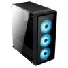 Корпус AeroCool Quartz RGB (без БП), черный, купить за 4 925руб.