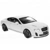 Радиоуправляемая модель Welly Bentley Continental Supersports, белая, купить за 1 385руб.