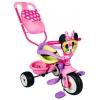 Трехколесный велосипед Smoby Minnie с сумкой, купить за 9 050руб.