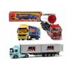 товар для детей Машина грузовик-трейлер, 38 см