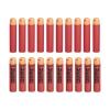 Товар для детей Hasbro nerf mega набор стрел, красный / оранжевый, купить за 910руб.