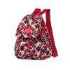 Рюкзак городской Continent 9501 бордовый-цветы, купить за 735руб.