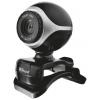 Web-камера Trust Exis Webcam 17003, черная/серебристая, купить за 890руб.