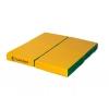 Мат гимнастический Perfetto Sport № 2 зелёно-жёлтый, купить за 1 380руб.