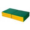 Мат гимнастический КМС № 11, зелёно-жёлтый, купить за 1 550руб.
