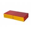 Мат гимнастический КМС № 11, красно-жёлтый, купить за 1 580руб.