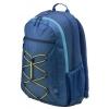 Рюкзак городской HP Active Backpack 15.6, синий/желтый, купить за 1 205руб.