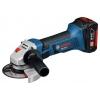 Шлифмашина Bosch GWS 18-125 V-LI 4.0Ач х2 L-BOXX, синяя, купить за 23 655руб.