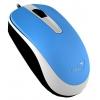 Мышку Genius DX-120 USB, голубая, купить за 390руб.