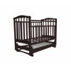 Детская кроватка Агат Золушка-4, шоколад, купить за 3 960руб.