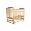 Детская кроватка Агат Золушка-3, светлая, купить за 3 610руб.