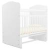 Детская кроватка Агат Золушка-10, белая, купить за 3 370руб.