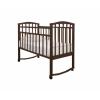 Детская кроватка Агат Золушка-1, шоколад, купить за 2 865руб.