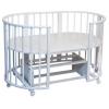 Детская кроватка Папа Карло 6 в 1 (трансформер), белая, купить за 8 500руб.