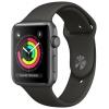 Умные часы Apple Watch Series 3 42mm черные, купить за 25 510руб.