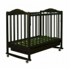 Детская кроватка Агат Золушка-2, шоколад, купить за 3 120руб.