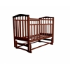 Детская кроватка Агат Золушка-3, вишня, купить за 3 000руб.
