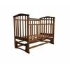 Детская кроватка Агат Золушка-5, орех, купить за 3 600руб.