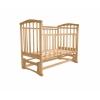 Детская кроватка Агат Золушка-5, светлая, купить за 3 600руб.