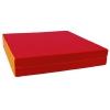 Мат гимнастический КМС № 8 (складной), красно/жёлтый, купить за 2 970руб.