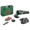 Шлифмашина Bosch UniversalMulti12 2.5Ач х1 кейс, зеленый, купить за 10 965руб.