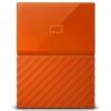 Жесткий диск Western Digital My Passport 1 TB (WDBBEX0010BOR-EEUE), оранжевый, купить за 4330руб.