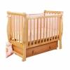 Детская кроватка Кубаньлесстрой Лаванда АБ 21.2, натуральный бук, купить за 15 470руб.